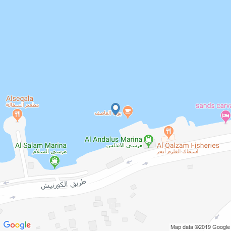 map of fishing charters in Jeddah