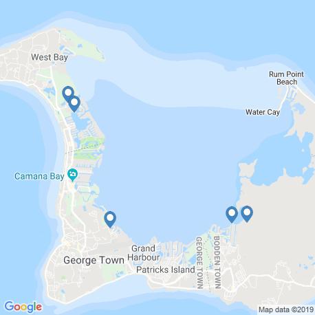 Карта рыбалки – Джордж-Таун