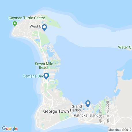 Карта рыбалки – Уэст-Бей
