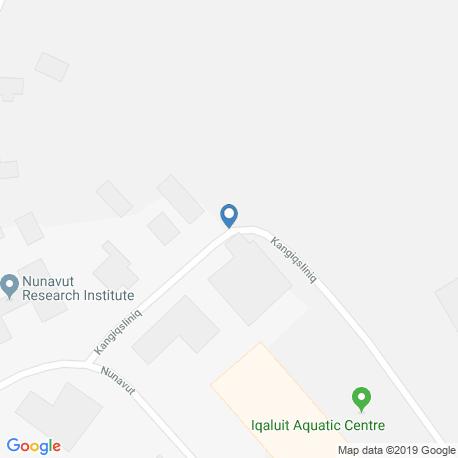Карта чартеров – Nunavut