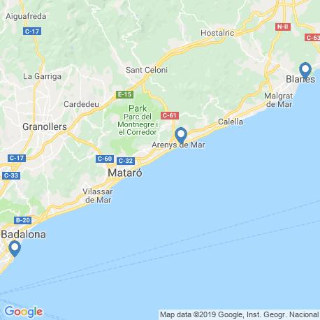 Карта рыбалки – Барселона