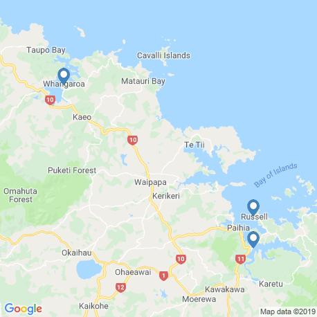 Карта рыбалки – Залив Островов