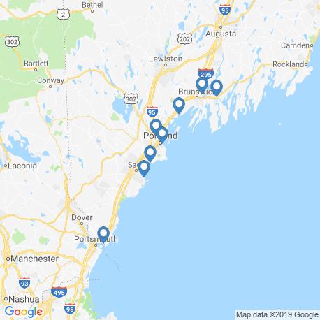 Карта рыбалки – Скарборо