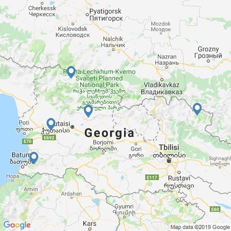 Карта рыбалки – Джорджия