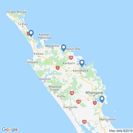 Карта рыбалки – Нортленд