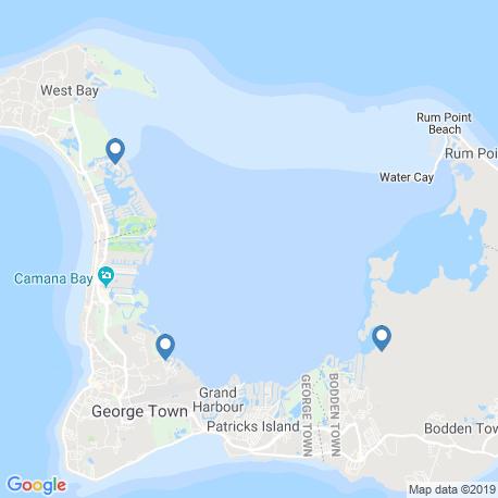 Карта рыбалки – Каймановы острова