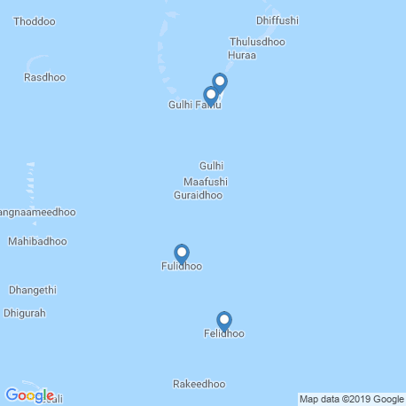 map of fishing charters in Fulidhooo