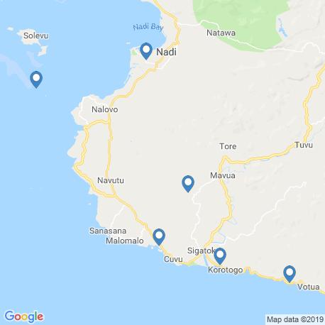 Карта рыбалки – Сингатока