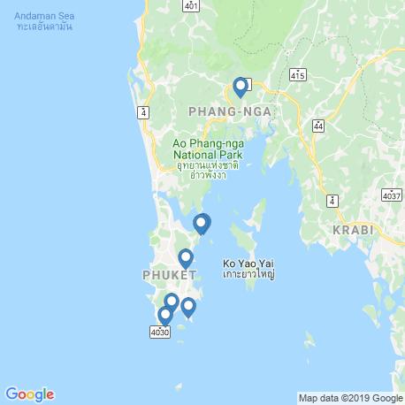 Карта рыбалки – Пхукет