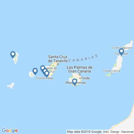 Карта рыбалки – Канарские острова