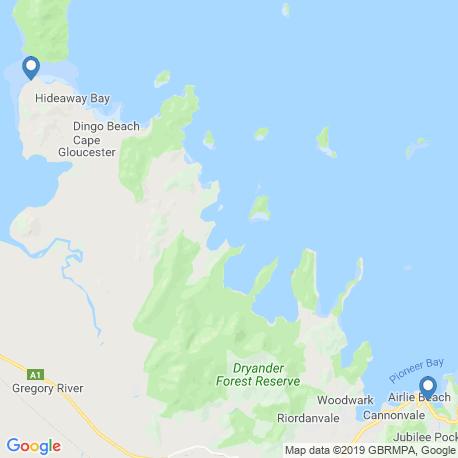 Карта рыбалки – Уитсандей