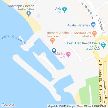 Карта чартеров – Иордания