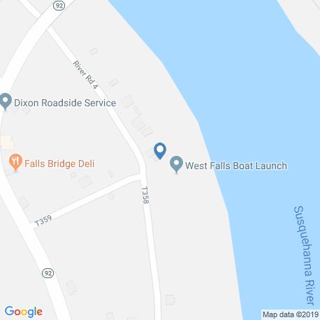 Карта рыбалки – Фолс