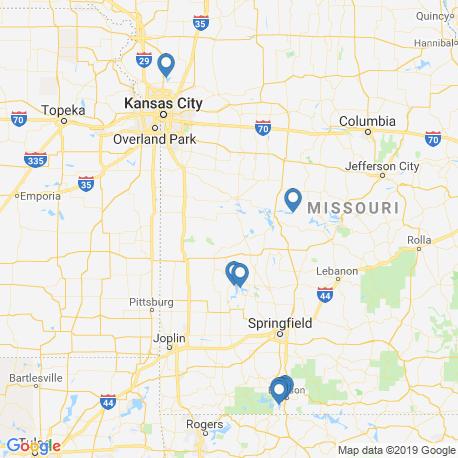 Карта чартеров – Миссури