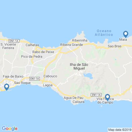 Карта рыбалки – Понта-Делгада