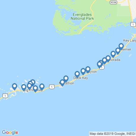 Карта рыбалки – Марафон