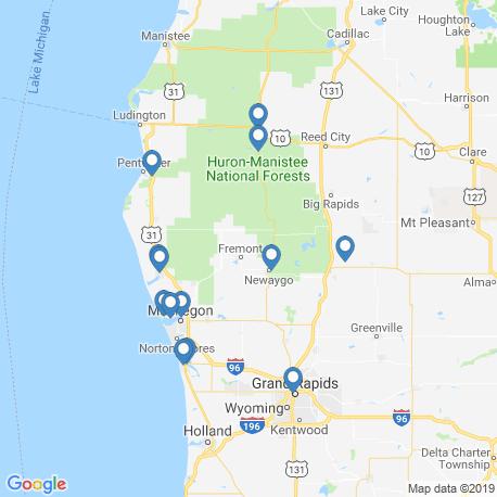 Карта рыбалки – Ньюейго
