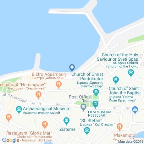 Карта рыбалки – Болгария