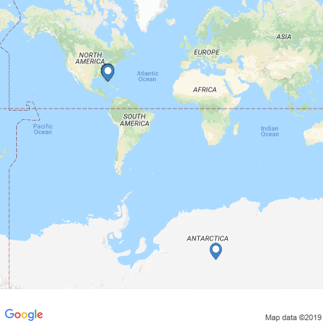 map of fishing charters in Naples