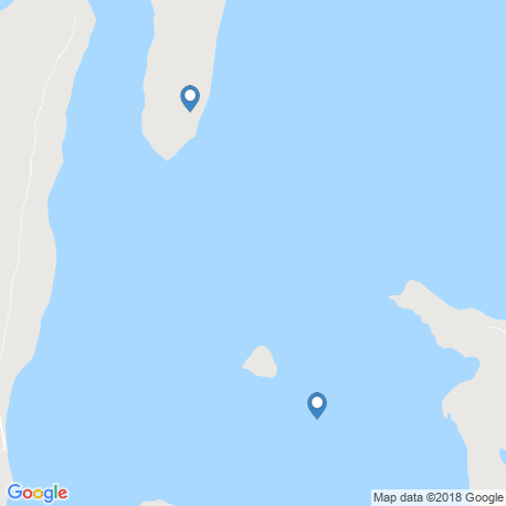 map of fishing charters in Inhambane