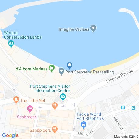 Карта рыбалки – Порт-Стивенс