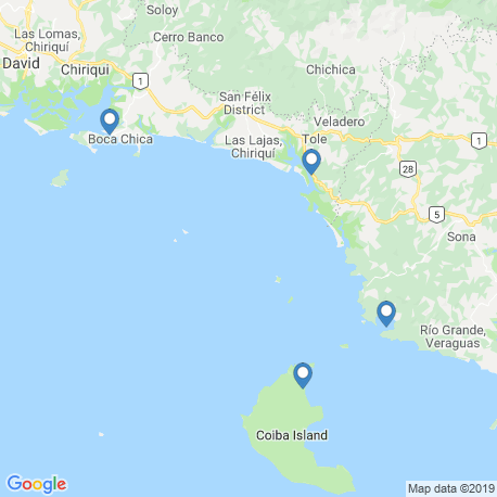 Карта рыбалки – Кебрада де Пьедра