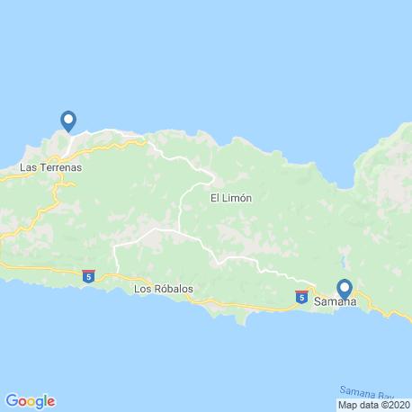 Карта рыбалки – Лас-Терренас