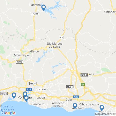 Карта рыбалки – Санта-Клара-а-Велья