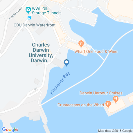 map of fishing charters in Dundee Beach