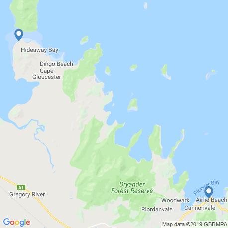 Карта рыбалки – Эрли-Бич