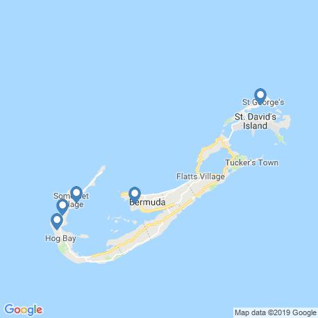 Карта чартеров – Бермудские острова