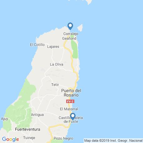 Карта рыбалки – Корралехо