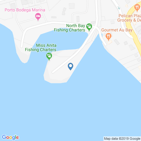 Карта рыбалки – Бодега-Бей