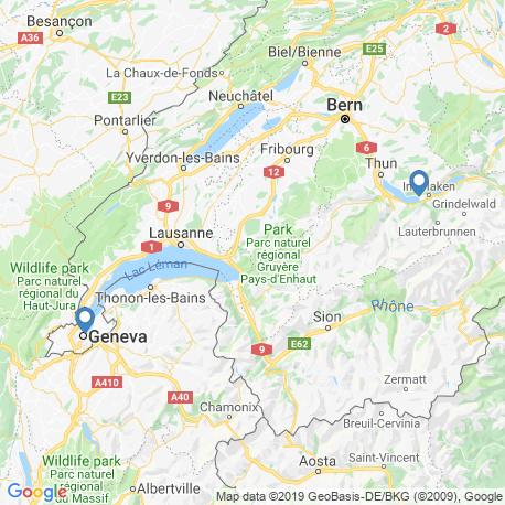 Карта чартеров – Швейцария