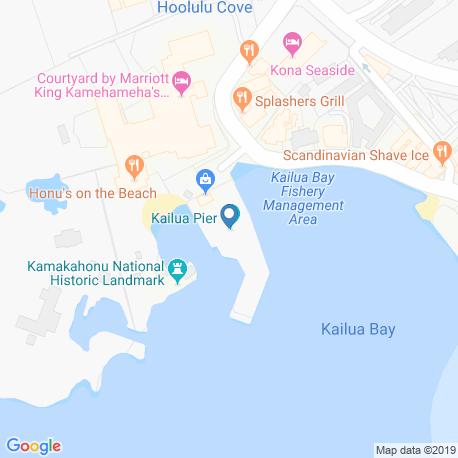Карта рыбалки – Кайлуа-Кона