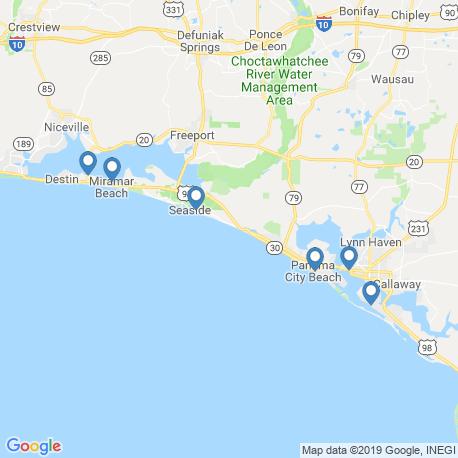 Карта рыбалки – Розмари Бич