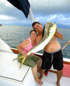 Dorado/ Mahi Mahi fishing aboard the Magnifico