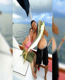 Dorado/ Mahi Mahi fishing aboard the Magnifico