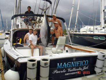Big Tuna fishing Magnifico Charter Puerto Vallarta