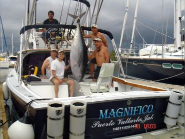 Big Tuna fishing Magnifico Charter Puerto Vallarta