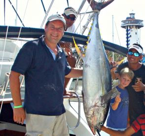 Tuna fishing Yellowfin Tuna Magnifico