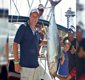 Tuna fishing Yellowfin Tuna Magnifico