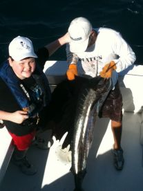 Even kids can catch sail fish