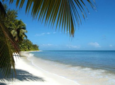 Beach Scenes on outer islands