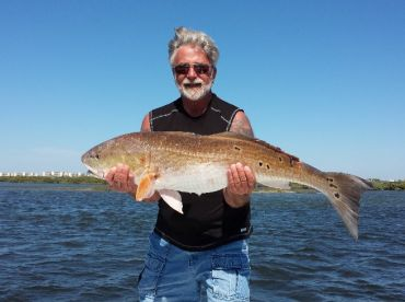 Client From NY  With a Big Redfish