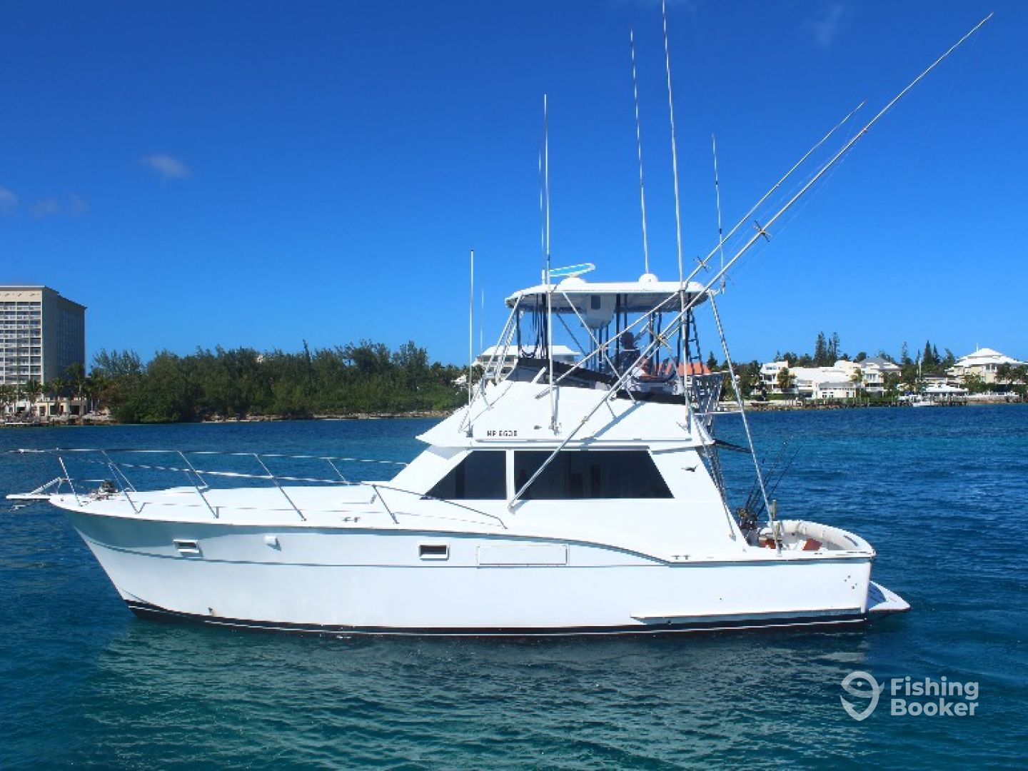 Hunter Charters - 42' Hatteras