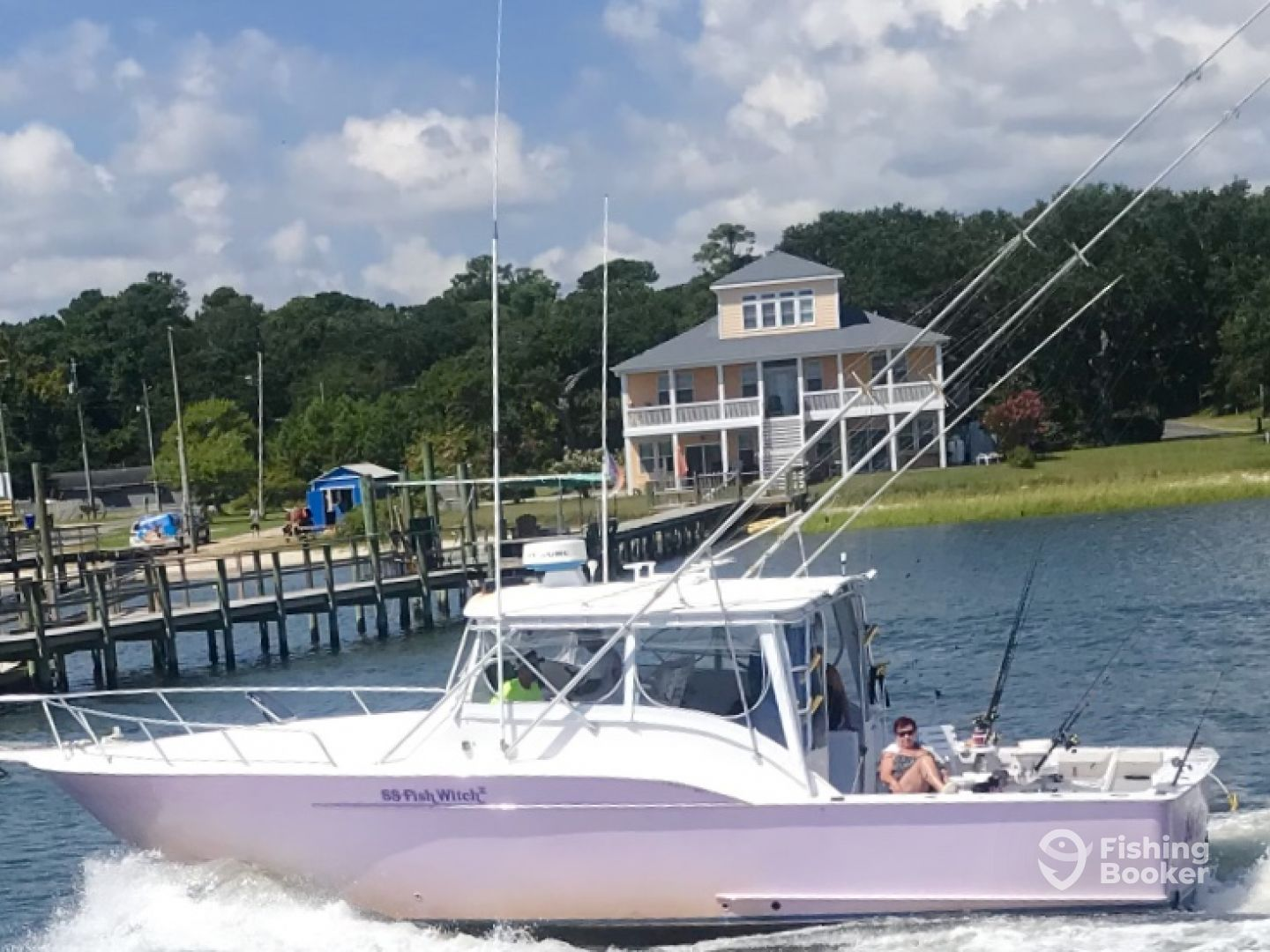 I just found S  S  Fish Witch II Charters on FishingBooker