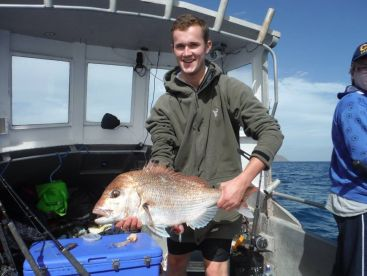 Youll get a good fillet from this snapper