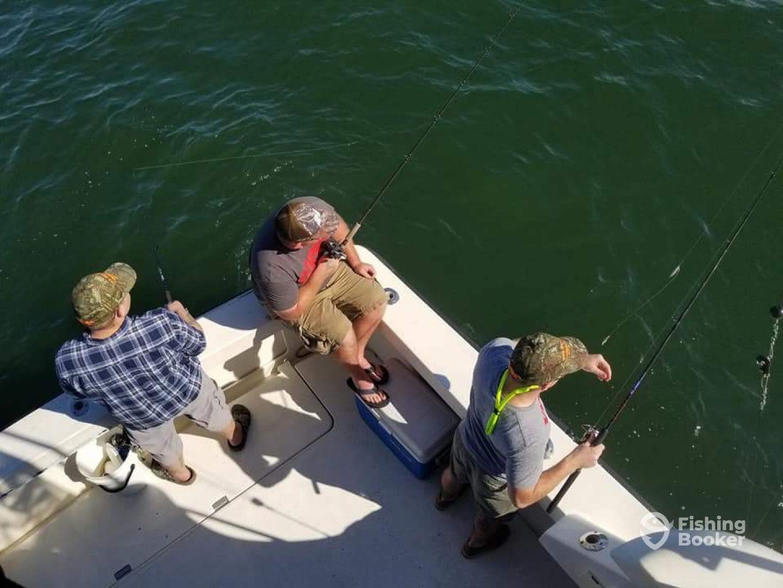Drifting for flounder