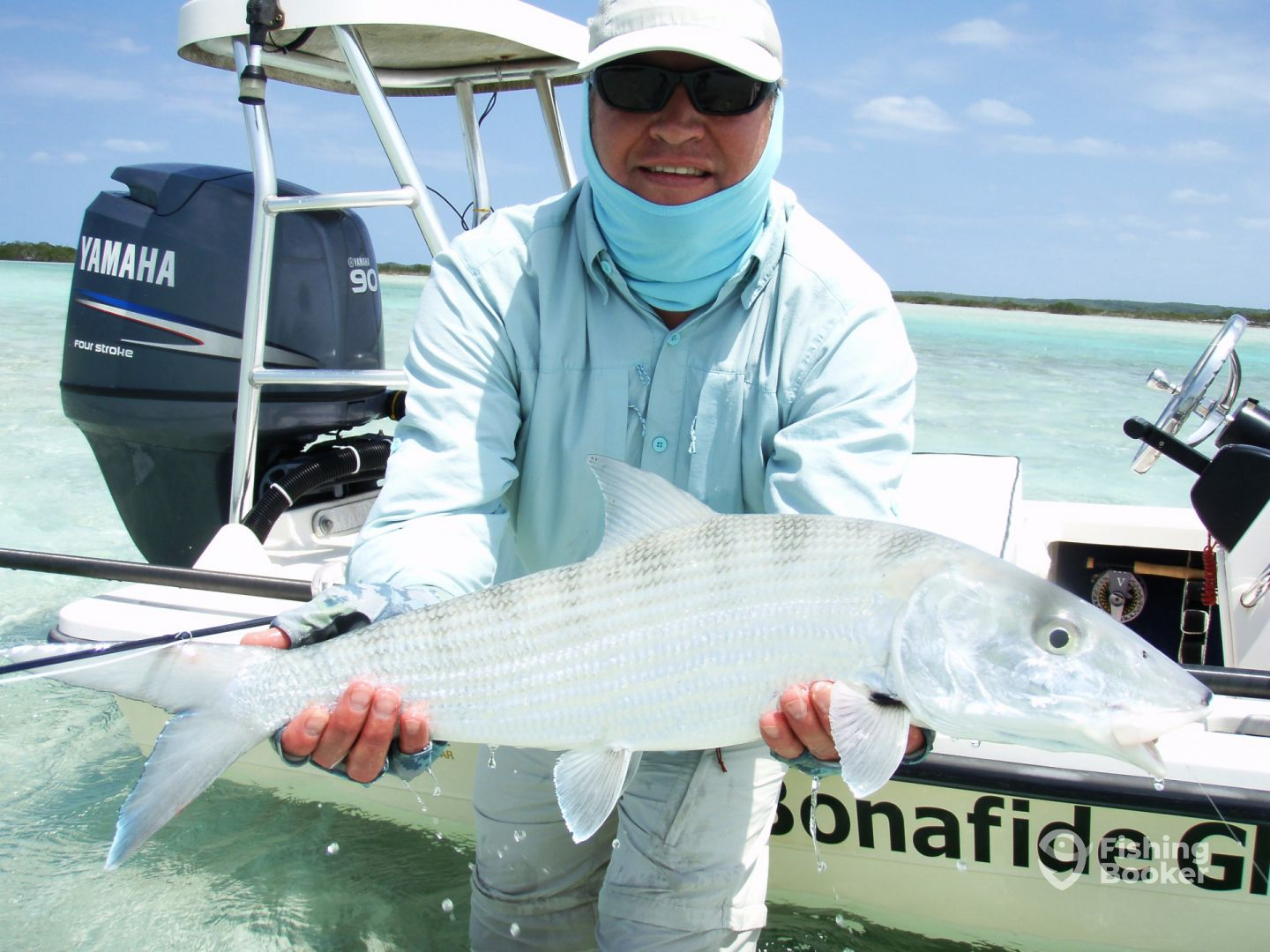 Big Bonefish catch on fly!